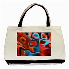 Abstract Fractal Basic Tote Bag by Simbadda
