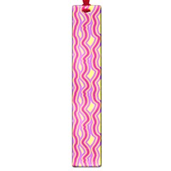 Pink Yelllow Line Light Purple Vertical Large Book Marks by Alisyart