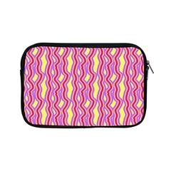 Pink Yelllow Line Light Purple Vertical Apple Ipad Mini Zipper Cases by Alisyart