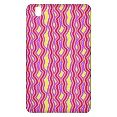 Pink Yelllow Line Light Purple Vertical Samsung Galaxy Tab Pro 8 4 Hardshell Case by Alisyart