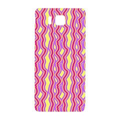 Pink Yelllow Line Light Purple Vertical Samsung Galaxy Alpha Hardshell Back Case by Alisyart