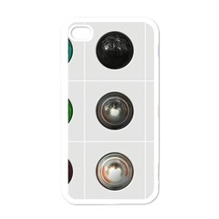 9 Power Buttons Apple Iphone 4 Case (white) by Simbadda