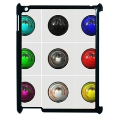 9 Power Buttons Apple Ipad 2 Case (black) by Simbadda