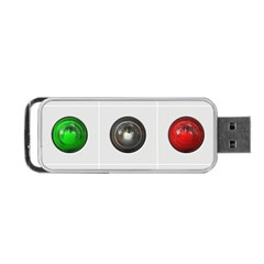 9 Power Buttons Portable Usb Flash (two Sides) by Simbadda