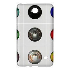 9 Power Buttons Samsung Galaxy Tab 4 (7 ) Hardshell Case  by Simbadda