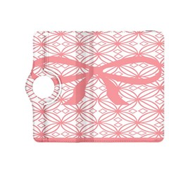 Pink Plaid Circle Kindle Fire Hdx 8 9  Flip 360 Case by Alisyart