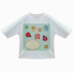 Buttons & Ladybugs Cute Infant/toddler T Shirts