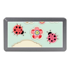 Buttons & Ladybugs Cute Memory Card Reader (mini) by Simbadda
