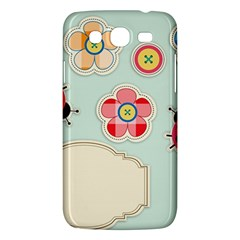 Buttons & Ladybugs Cute Samsung Galaxy Mega 5 8 I9152 Hardshell Case  by Simbadda