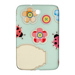 Buttons & Ladybugs Cute Samsung Galaxy Note 8 0 N5100 Hardshell Case  by Simbadda
