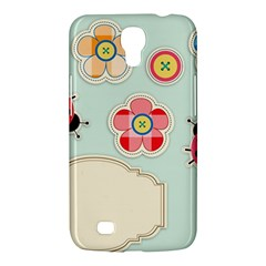 Buttons & Ladybugs Cute Samsung Galaxy Mega 6 3  I9200 Hardshell Case by Simbadda