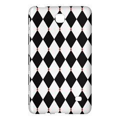 Plaid Triangle Line Wave Chevron Black White Red Beauty Argyle Samsung Galaxy Tab 4 (8 ) Hardshell Case  by Alisyart