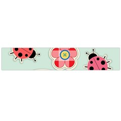 Buttons & Ladybugs Cute Flano Scarf (large) by Simbadda