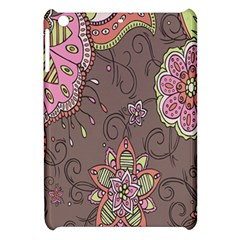 Ice Cream Flower Floral Rose Sunflower Leaf Star Brown Apple Ipad Mini Hardshell Case by Alisyart