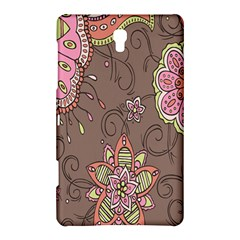 Ice Cream Flower Floral Rose Sunflower Leaf Star Brown Samsung Galaxy Tab S (8 4 ) Hardshell Case  by Alisyart