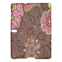 Ice Cream Flower Floral Rose Sunflower Leaf Star Brown Samsung Galaxy Tab S (10 5 ) Hardshell Case  by Alisyart