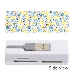 Flower Floral Bird Peacok Sunflower Star Leaf Rose Memory Card Reader (stick)  by Alisyart