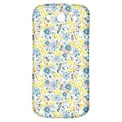 Flower Floral Bird Peacok Sunflower Star Leaf Rose Samsung Galaxy S3 S Iii Classic Hardshell Back Case by Alisyart