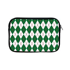 Plaid Triangle Line Wave Chevron Green Red White Beauty Argyle Apple Ipad Mini Zipper Cases by Alisyart
