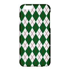 Plaid Triangle Line Wave Chevron Green Red White Beauty Argyle Apple Iphone 6 Plus/6s Plus Hardshell Case by Alisyart