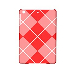 Plaid Triangle Line Wave Chevron Red White Beauty Argyle Ipad Mini 2 Hardshell Cases by Alisyart