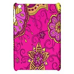 Pink Lemonade Flower Floral Rose Sunflower Leaf Star Pink Apple Ipad Mini Hardshell Case by Alisyart