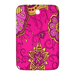Pink Lemonade Flower Floral Rose Sunflower Leaf Star Pink Samsung Galaxy Note 8 0 N5100 Hardshell Case  by Alisyart