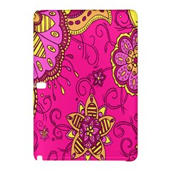 Pink Lemonade Flower Floral Rose Sunflower Leaf Star Pink Samsung Galaxy Tab Pro 10 1 Hardshell Case by Alisyart