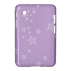 Star Lavender Purple Space Samsung Galaxy Tab 2 (7 ) P3100 Hardshell Case  by Alisyart