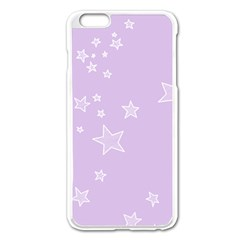Star Lavender Purple Space Apple Iphone 6 Plus/6s Plus Enamel White Case by Alisyart