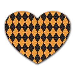 Plaid Triangle Line Wave Chevron Yellow Red Blue Orange Black Beauty Argyle Heart Mousepads by Alisyart