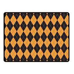 Plaid Triangle Line Wave Chevron Yellow Red Blue Orange Black Beauty Argyle Fleece Blanket (small) by Alisyart