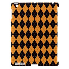 Plaid Triangle Line Wave Chevron Yellow Red Blue Orange Black Beauty Argyle Apple Ipad 3/4 Hardshell Case (compatible With Smart Cover) by Alisyart
