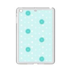 Star White Fan Blue Ipad Mini 2 Enamel Coated Cases by Alisyart