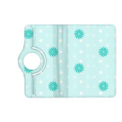 Star White Fan Blue Kindle Fire Hd (2013) Flip 360 Case by Alisyart
