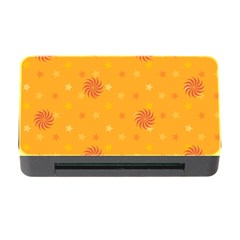 Star White Fan Orange Gold Memory Card Reader With Cf by Alisyart