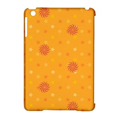 Star White Fan Orange Gold Apple Ipad Mini Hardshell Case (compatible With Smart Cover) by Alisyart