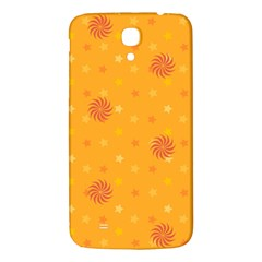 Star White Fan Orange Gold Samsung Galaxy Mega I9200 Hardshell Back Case by Alisyart