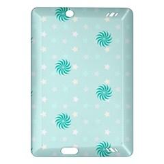 Star White Fan Blue Amazon Kindle Fire Hd (2013) Hardshell Case by Alisyart