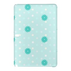 Star White Fan Blue Samsung Galaxy Tab Pro 10 1 Hardshell Case by Alisyart