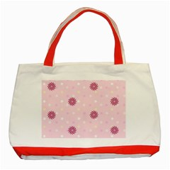Star White Fan Pink Classic Tote Bag (red) by Alisyart