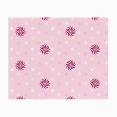 Star White Fan Pink Small Glasses Cloth (2 Side) by Alisyart