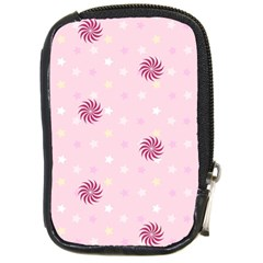 Star White Fan Pink Compact Camera Cases by Alisyart