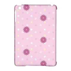 Star White Fan Pink Apple Ipad Mini Hardshell Case (compatible With Smart Cover) by Alisyart