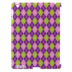Plaid Triangle Line Wave Chevron Green Purple Grey Beauty Argyle Apple Ipad 3/4 Hardshell Case (compatible With Smart Cover) by Alisyart