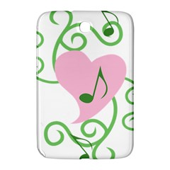Sweetie Belle s Love Heart Music Note Leaf Green Pink Samsung Galaxy Note 8 0 N5100 Hardshell Case  by Alisyart