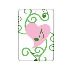 Sweetie Belle s Love Heart Music Note Leaf Green Pink Ipad Mini 2 Hardshell Cases by Alisyart