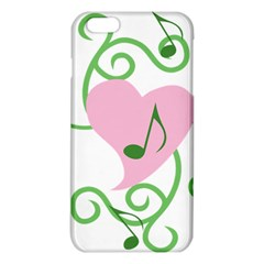 Sweetie Belle s Love Heart Music Note Leaf Green Pink Iphone 6 Plus/6s Plus Tpu Case by Alisyart