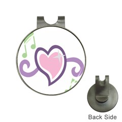 Sweetie Belle s Love Heart Star Music Note Green Pink Purple Hat Clips With Golf Markers by Alisyart
