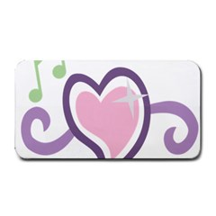 Sweetie Belle s Love Heart Star Music Note Green Pink Purple Medium Bar Mats by Alisyart